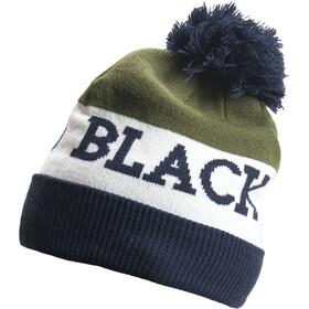 Black Diamond Tom Pom Beanie Captain-White-Burnt Olive